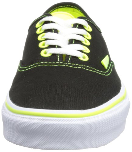 Neon Adulto Negro Black Pop Zapatillas Vans Unisex Authentic aq6wWXnXHB
