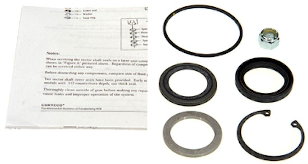 Edelmann 8773 Power Steering Gear Box Pitman Shaft Seal Kit EP8773