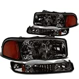 DNA Motoring HL-OH-SIE994P-SM-AM Headlight Assembly