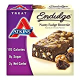 Image of Atkins Endulge Treat, Nutty Fudge Brownie Bar, 5 Bars