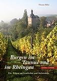 Burgen Im Taunus und Im Rheingau : Ein Fuhrer Zu Geschichte und Architektur, Biller, Thomas, 3795419913