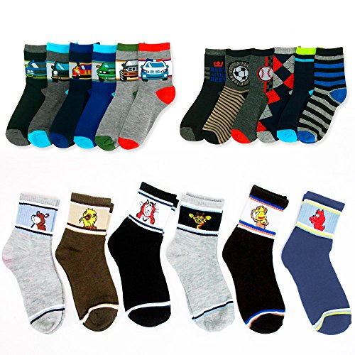 Pairs Assorted Socks Years Casual