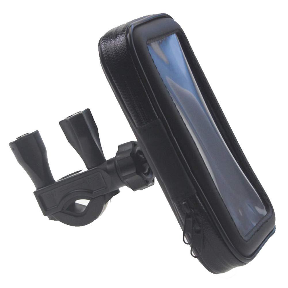 Hosaire 1 Set di navigazione impermeabile allacqua e agli urti per biciclette e moto con rotazione a 360/° per schermo smartphone o GPS di altri dispositivi