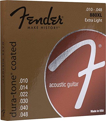 Fender 60L 0730880002 Acoustic Guitar Coated Ball End String