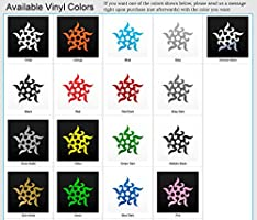 Amazon.com: Vinyl Sticker Decal Tribal Tattoo Ninja Stars ...