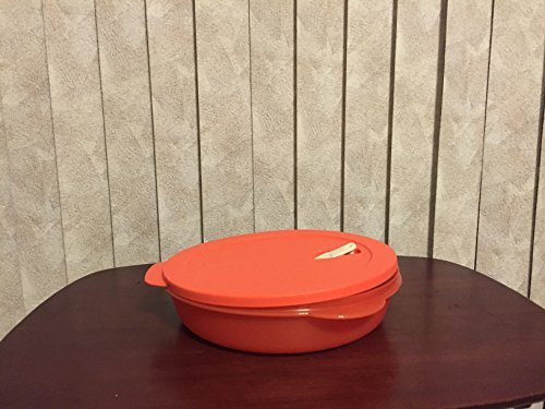 Tupperware Crystalwave Divided Dish in Coral Crush/Melon by - Melon Crush