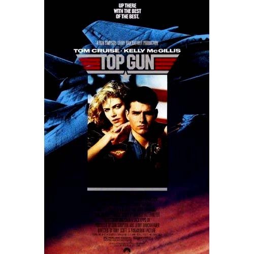Top Gun Movie Poster #04 24