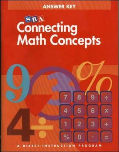 Read Online Connecting Math Concepts, Answer key, level A pdf