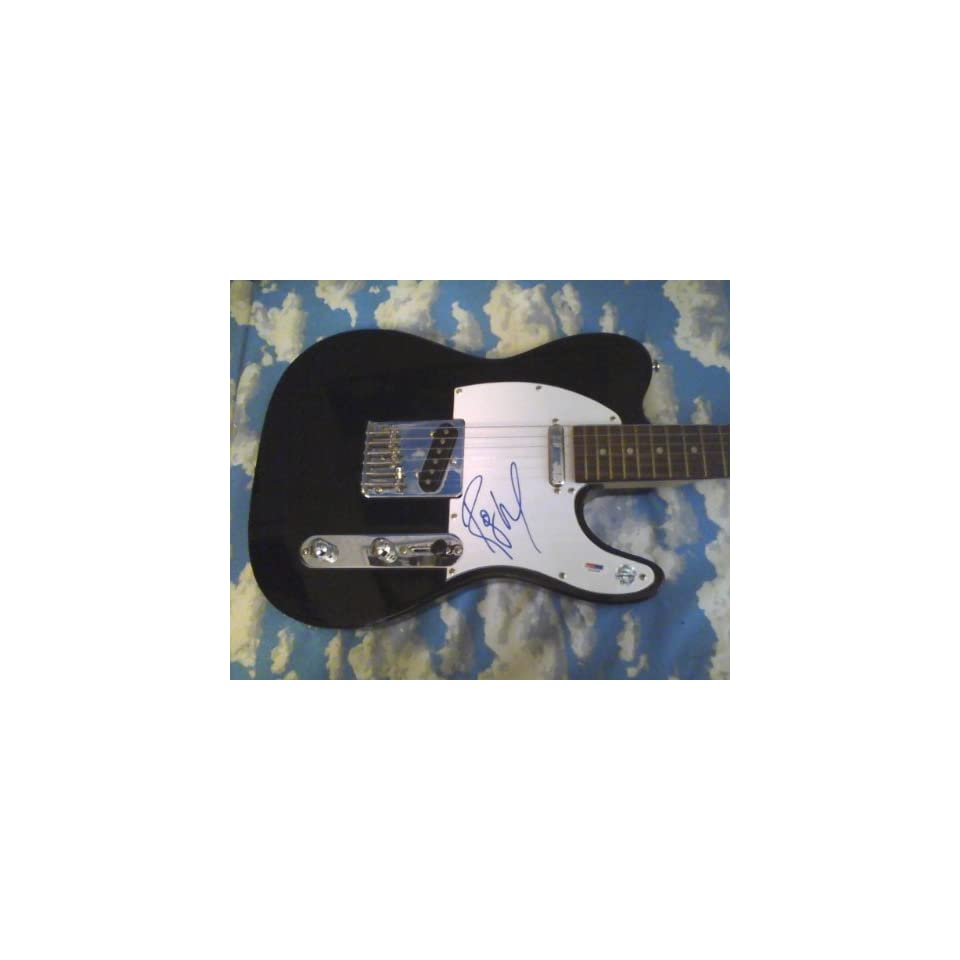 Pink Floyd Autographed Electric Guitar Hand Signed By Roger Waters W