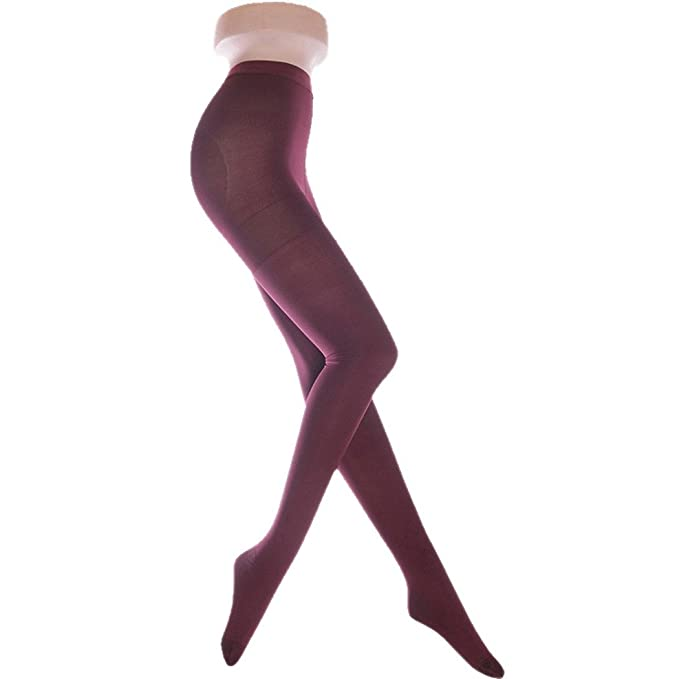 7bb9dc768 Aivtalk 680D Mujer Medias Elásticas Pantimedias con Compresión para  Primavera Otoño Adelgazamiento Talla S/M/L/XL - Color Verde/Vino Tinto a  Elegir