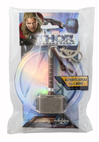 - Marvel Thor Hammer 2 Pewter Key Ring