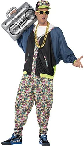 80s Costumes, Outfit Ideas- Girls and Guys Smiffys 80s Hip Hop Costume £25.35 AT vintagedancer.com