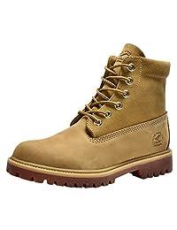 Insun Men's Cowhide Leather Lace Up Boots