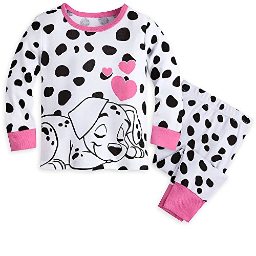 Disney 101 Dalmatians PJ PALS Pajamas for Girls Size 6-9 MO