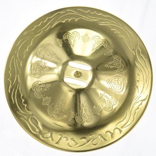 Brass Arabesque II Zills/Finger Cymbals/Zils by Saroyan Mastercrafts