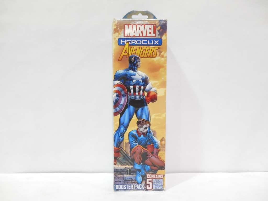 Marvel HeroClix: Avengers Booster Pack: Amazon.es: Juguetes y juegos