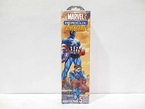 Marvel HeroClix: Avengers Booster Pack: Amazon.es: Juguetes y juegos