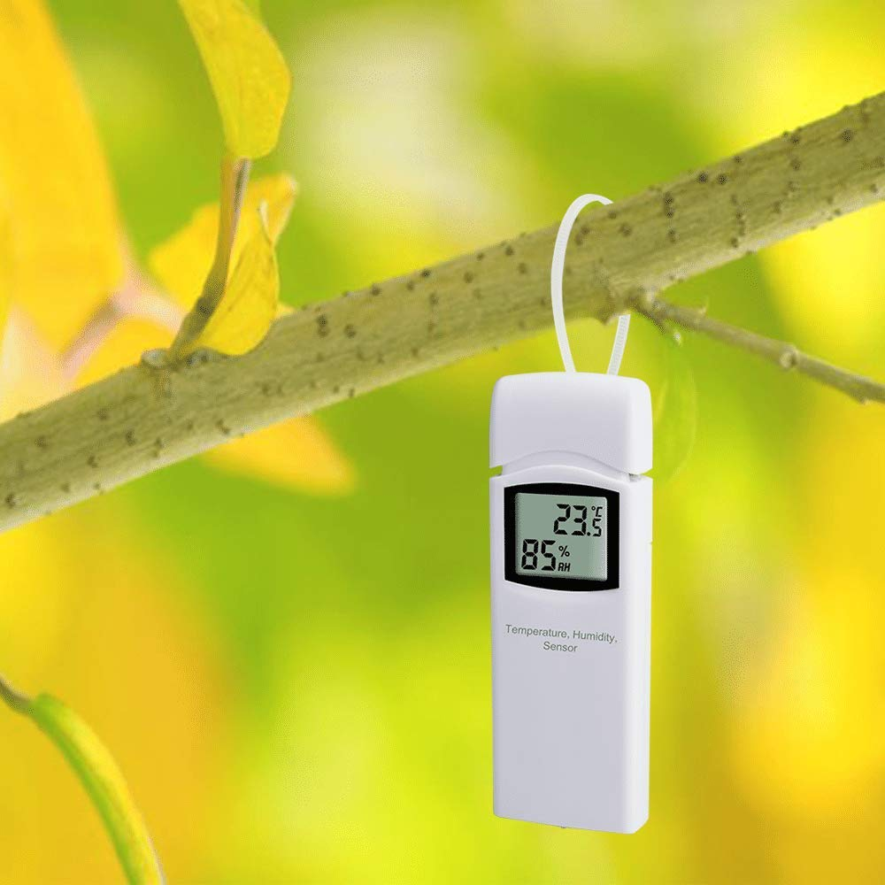 Can Not Be Used Alone Accessory Only ECOWITT WH32 Outdoor Temperature and Humidity Sensor