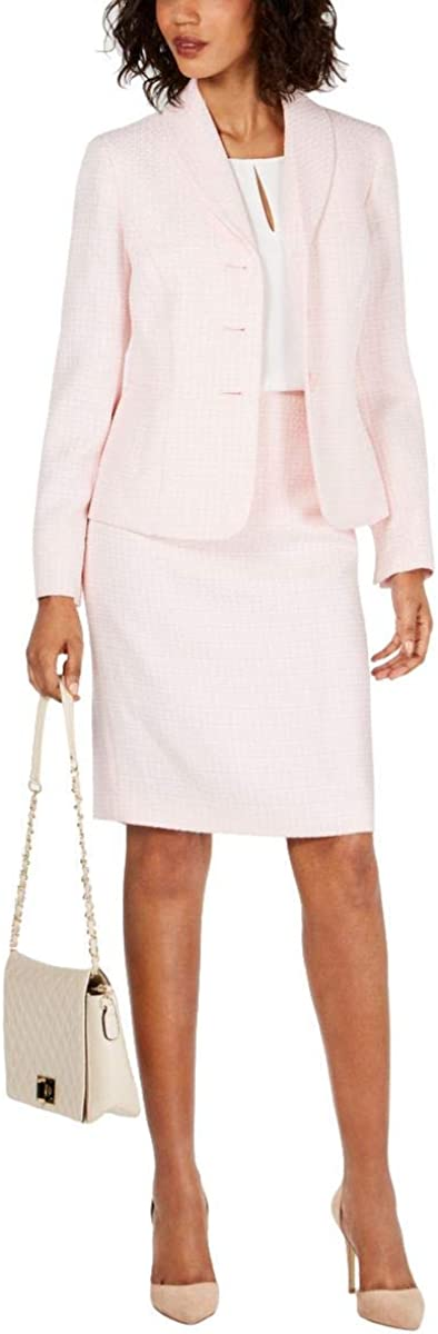 Le Suit Women's 3 Skirt Max 43% Very popular! OFF Button Novelty