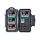 36 Slots Water-Resistant Memory Card Case SD MSD