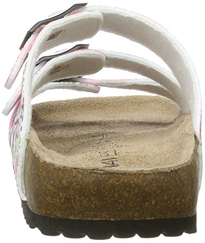 Softwaves 274 475 - Mules Mujer Mehrfarbig (WHITE MULTI)