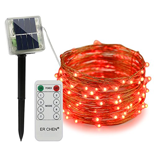 100 Count Red Led Christmas Lights in US - 4