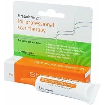 Amazon Com Strataderm Scar Therapy Gel 5g Beauty