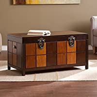 Southern Enterprises Hendrick Trunk Cocktail Table