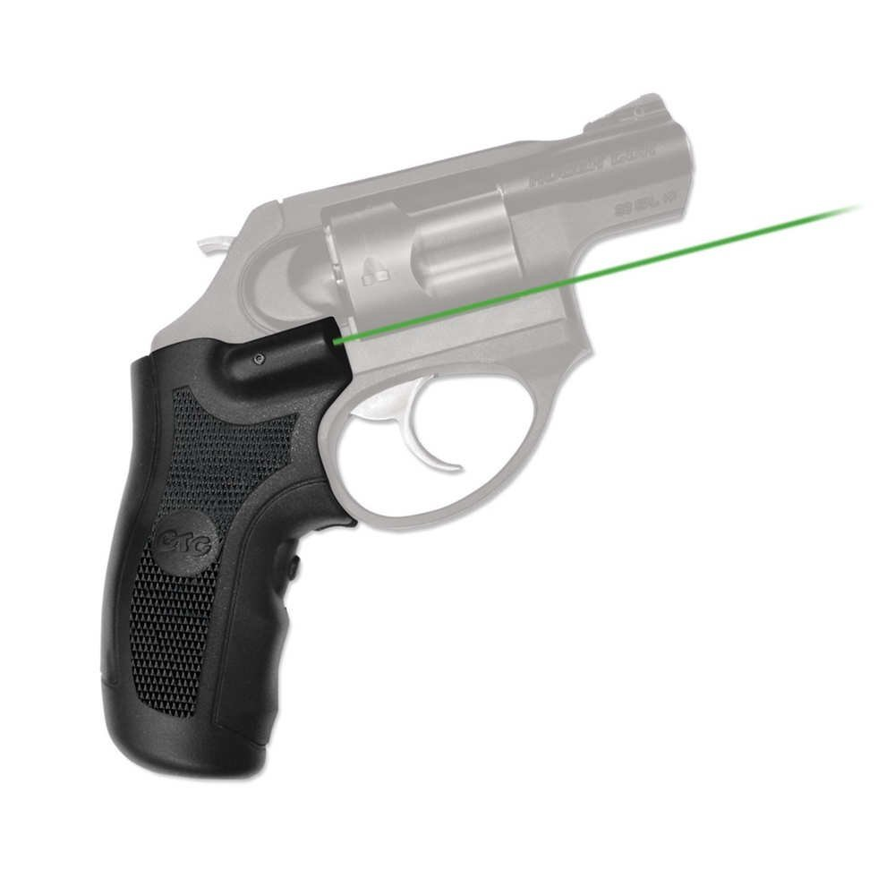 Amazon.com : Crimson Trace LG-415G GREEN LASERGRIPS FOR RUGER LCR/X ...