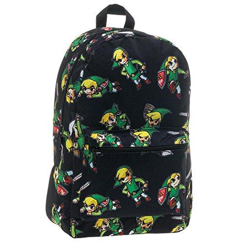 Legend Zelda Wind Waker Backpack