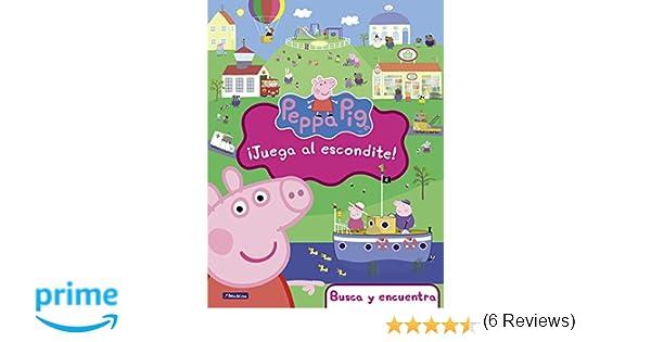 ¡Juega al escondite! (Peppa Pig. Didácticos): Amazon.es: Varios autores, IRENE; PONS JULIÁ: Libros