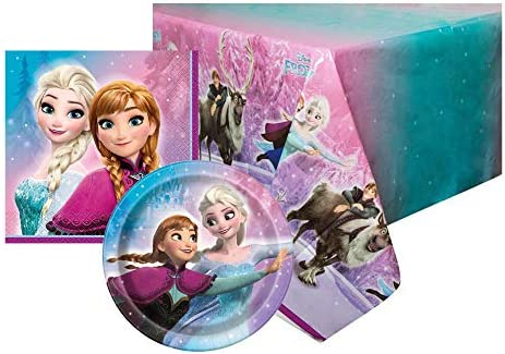 Disney Frozen Kids Happy Birthday Party Supplies - Servilletas para mesa: Amazon.es: Juguetes y juegos