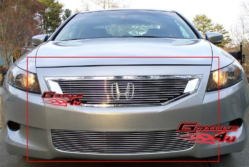 - Fits 08-10 Honda Accord Coupe Billet Grille Combo #H67794A