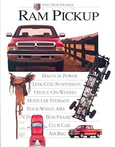 amazon com: 1995 dodge ram pickup truck brochure: entertainment collectibles