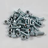 20 Sets - Auger Shear Pins Bolts & Nuts Honda HS1132 HS624 HS828 HS928 HS724