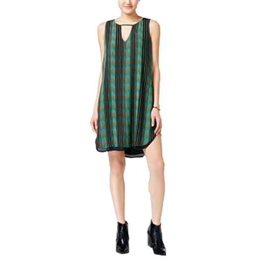 204d05b14a028 Bar III Sleeveless Cutout Sheath Dress Black Combo XS at Amazon ...
