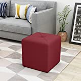 Christopher Knight Home 303843 Cayla Ottoman, Deep Red Review
