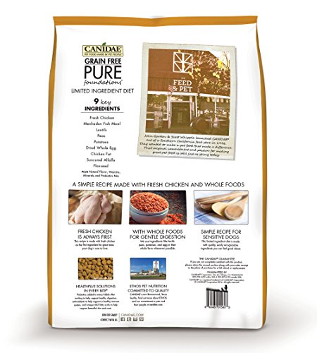 CANIDAE-Grain-Free-PURE-Foundations-Puppy-Dry-Formula-with-Fresh-Chicken-24-lbs