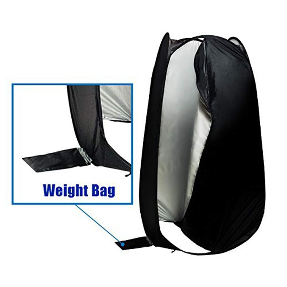 LimoStudio 6 ft. Portable Indoor Outdoor Camping Photo Studio Pop up Changing Tent Fitting Rom with Carrying Case, Foldable into Carry Bag, AGG348 by LimoStudio (Image #3)
