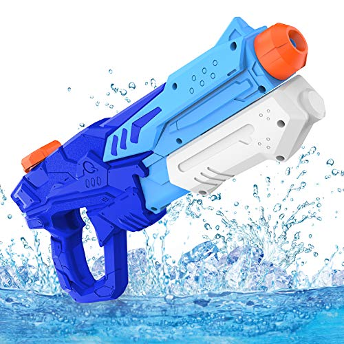 Kiztoys Water Guns for Kids Powerful Water Pistols with 600ML Large Capacity and 10M Long Range for Boys Girls Children Summer Swimming Pool Beach Outdoor Water Fighting Toys