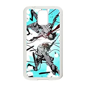 Mikasa Ackerman And Eren Yeager Attack On Titan Anime1 5 Samsung Galaxy S5 Cell Phone Case White persent xxy002_6892698