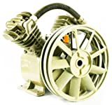 17.5 CFM 145 PSI TWIN CYLINDER AIR COMPRESSOR V PUMP 5HP - 5.5HP ELECTRIC MOTOR