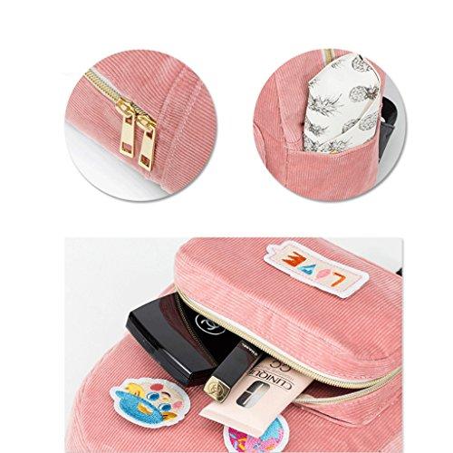 Sac Bandoulière à Féminin Dos Bandoulière Sac Pink Pink Bandoulière à à Couleur Sac à Dos gj à Sac à Sac Féminin wTZqYqzIx