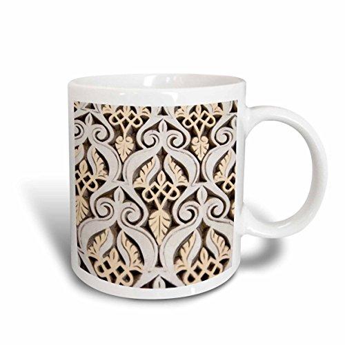 3dRose mug_73590_1 ''Morocco, Mahakma Law Courts, Islamic patterns -AF29 CMI0028 - Cindy Miller Hopkins'' Ceramic Mug, 11 oz, Multicolor by 3dRose