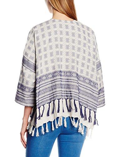 Pcbisla Ip Gilet Kimono Multicolore Whitecap Gray Pieces Femme Hq7dHF
