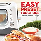 Dash Clear View Extra Wide Slot Toaster with