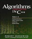 Algorithms in C++, Parts 1-4: Fundamentals, Data
