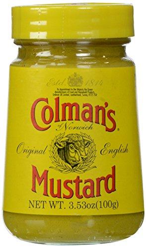 Prepared Mustard - Colman's Original English Prepared Mustard 3.53 oz