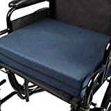 Egg Crate Cushion for Recliner DMI Seat Cushion for Wheelchairs, Mobility Scooters, Office & Kitchen Chairs or Car Seats to Add Support & Comfort while Reducing Pressure & Stress on Back, 4