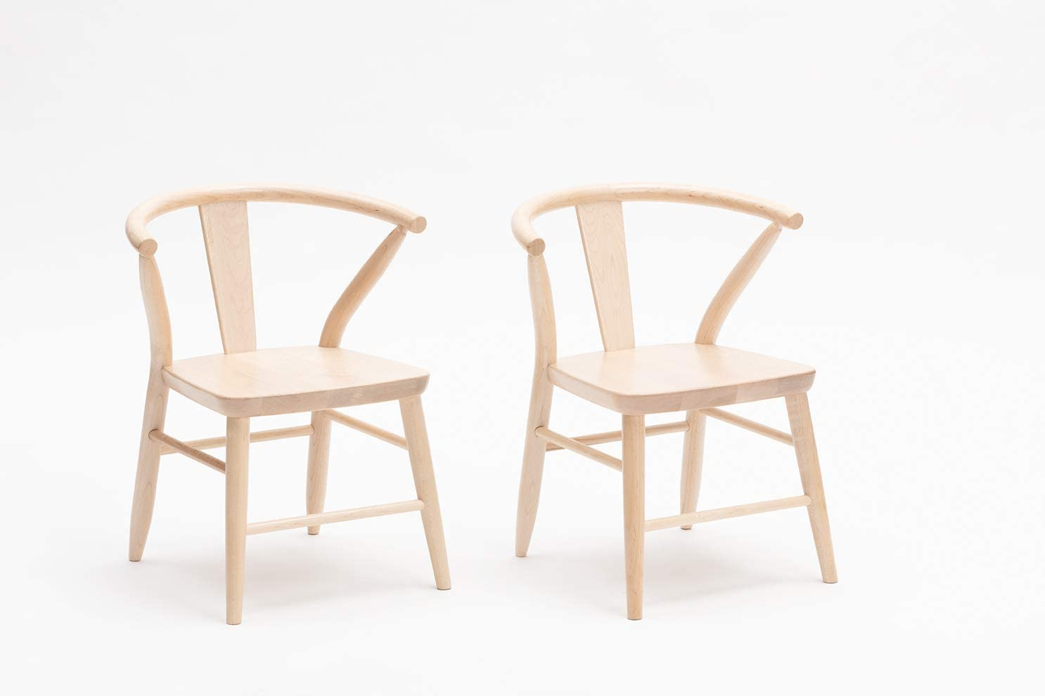 Milton and Goose Solid Wood Play Chairs